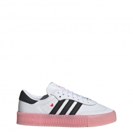 ADIDAS originals sneakers sambarose bianco nero rosa donna