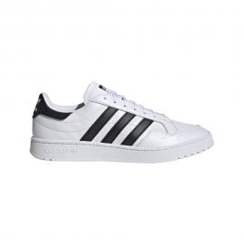 ADIDAS originals sneakers modern team court bianco nero uomo