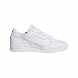 ADIDAS originals sneakers continental 80 bianco rosa donna
