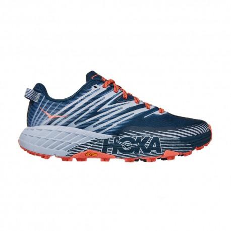 Hoka Scarpe Trail Running Donna Speedgoat 4 Blu Donna