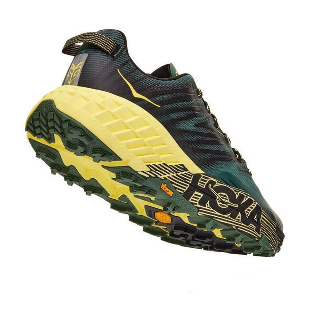 Running Hoka Scarpe Trail Running Speedgoat 4 Verde Lime