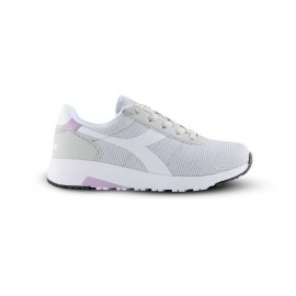 Diadora Sneakers Evo Run Gs Argento Bianco Bambino