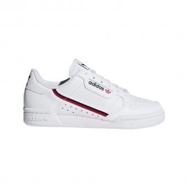 ADIDAS originals sneakers continental 80 gs bianco nero bambino