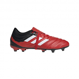 ADIDAS scarpe da calcio copa gloro 20.2 fg rosso bianco uomo