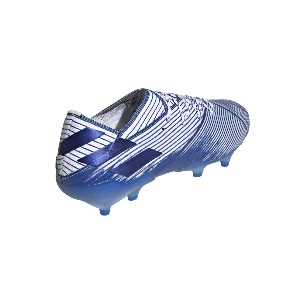 calcio ADIDAS scarpe da calcio nemeziz 19.1 fg bianco royal uomo eg