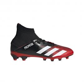 ADIDAS scarpe da calcio predator 20.3 mg nero bianco bambino