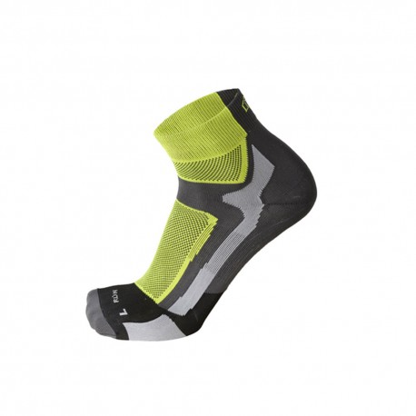 Mico Sport Calze Running Professional Extralight Giallo Fluo Uomo