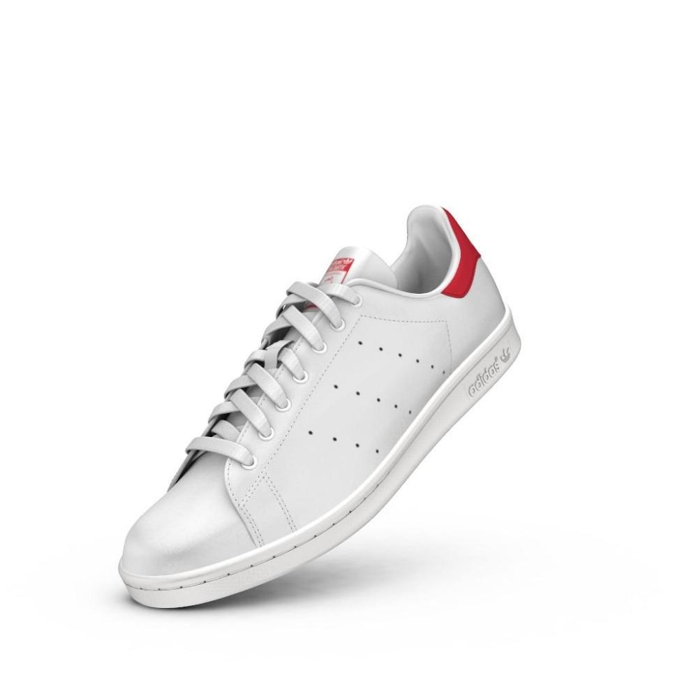 adidas stan smith bianco rosse