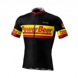 Biciclista Maglia Ciclismo Powerbeer Multicolore Uomo