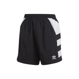ADIDAS originals shorts big logo nero donna