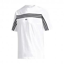 ADIDAS originals t-shirt 3 s back bianco uomo