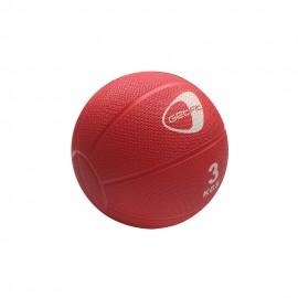 Get Fit Palla Medica Basic 3 Kg Rosso