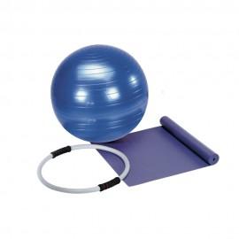 Get Fit Set Pilates (Materassino - Palla Ginnica - Anello)