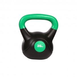 Get Fit Kettle Bell 20 Kg Nero Verde