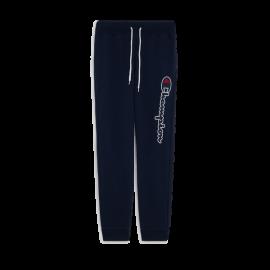 Champion Pantaloni Con Polsino Logo Blu Uomo