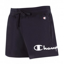 Champion Shorts Logo Lato Nero Donna