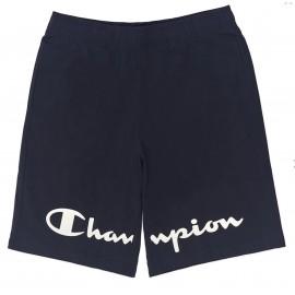 Champion Shorts Big Logo Blu Uomo