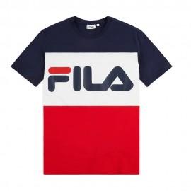 Fila T-Shirt Bicolor Blu Uomo