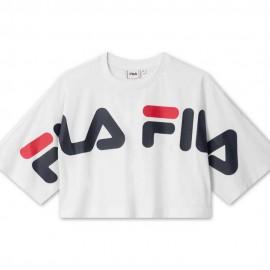 Fila T-Shirt Big Logo Back Blu Uomo