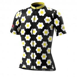 Biciclista Maglia Ciclismo Donna Daisy Multicolore Donna