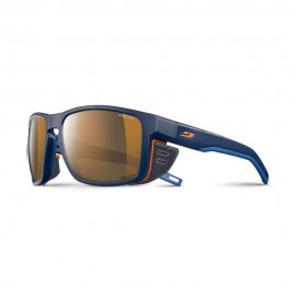 Julbo Occhiali Shield Reactiv High Mountain Blu Arancio Uomo