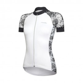 Rh+ Maglia Ciclismo Donna Elite Bianco Donna