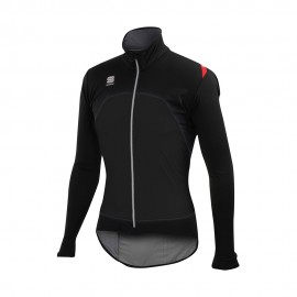 Sportful Giacca Ciclismo Windstopper Fiandre Light Nero Uomo