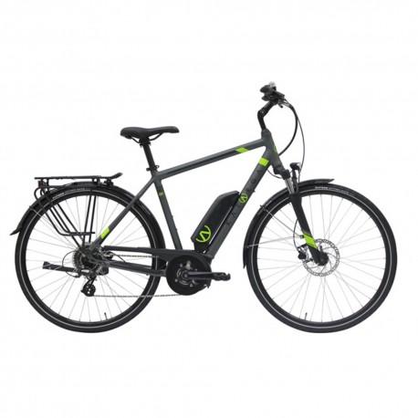 Katarga City Bike Elettrica Tr8 300wh Grigio Opaco Uomo