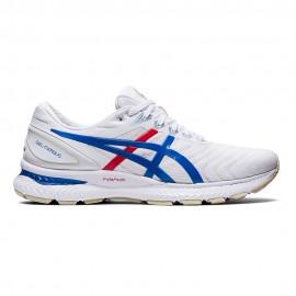 Asics Scarpe Running Gel Nimbus 22 Bianco Blu Donna
