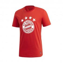 Adidas Maglia Calcio Bayern Graphic Dna Rosso Uomo