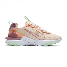 Nike Sneakers React V2 Crimson Rosa Donna