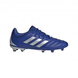 ADIDAS scarpe da calcio copa 20.3 fg blu argento bambino