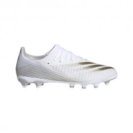 ADIDAS scarpe da calcio x ghosted .3 mg bianco oro uomo