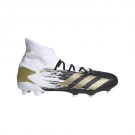 ADIDAS scarpe da calcio predator 20.3 fg bianco oro uomo