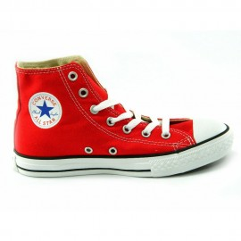 Converse All Star Hi Canvas Donna Rosso