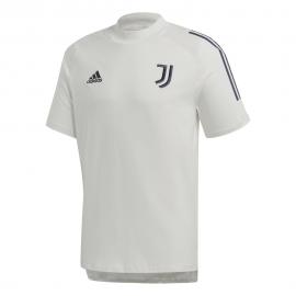 ADIDAS maglia calcio juve cotton 20/21 bianco blu uomo