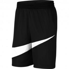 Nike Pantaloncini Basket Dri-Fit Hbr Nero Bianco Uomo