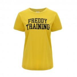 Freddy Maglietta Palestra Training Jersey Senape Donna