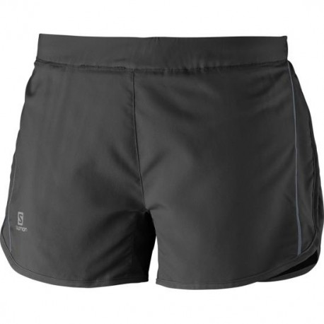 Salomon Short Donna Agile Black