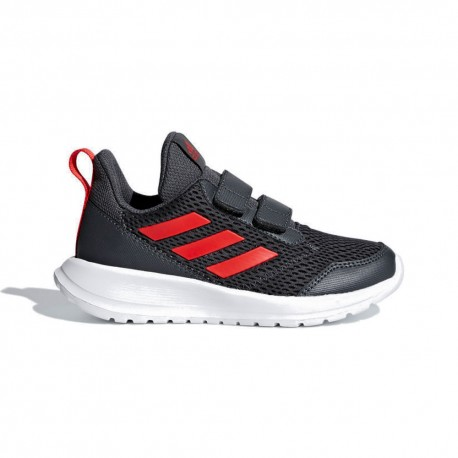 Adidas Sneakers Altarun Cf K Gs Nero Rosso Bambino