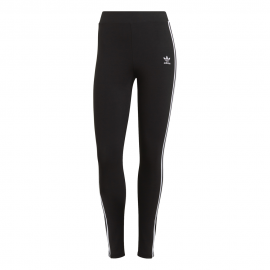 ADIDAS originals leggings triband logo aa nero donna