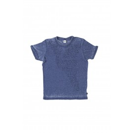 Everlast T-Shirt Indigo Mm Giro Jy Blu