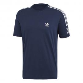 ADIDAS originals t-shirt logo blu uomo