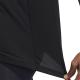 ADIDAS maglietta palestra traintristripe nero uomo