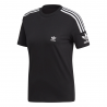 ADIDAS originals t-shirt logo nero donna