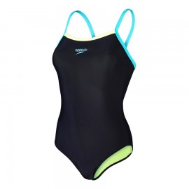 Speedo Costume Thin Nero/Bali Donna