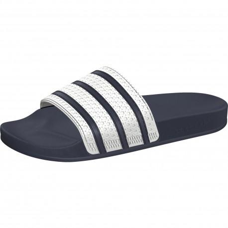 Adidas Ciabatta Adilette Blu/Bianco