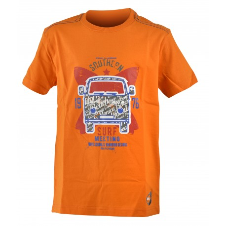 Get Fit T-Shirt Bus Arancio Bambino
