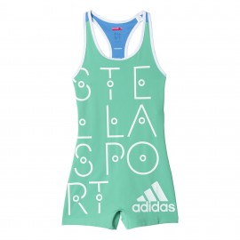 Adidas Tuta Short Stella Bright Green Donna