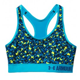 Under Armour Bra Mid Sup Train Camo Donna